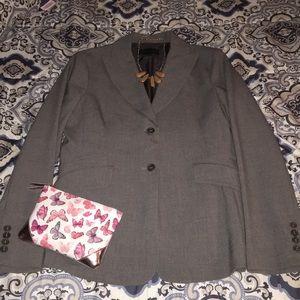 3/$20 BCBGMAXAZRIA gray blazer